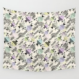 Funny fish 4 Wall Tapestry