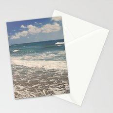 Half Moon beach. Retro Stationery Cards
