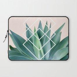 Agave geometrics - peach Laptop Sleeve