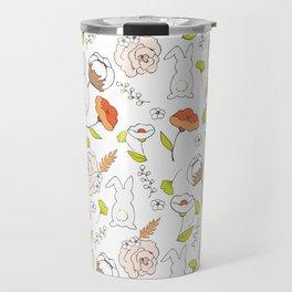 Spring blooming pattern Travel Mug