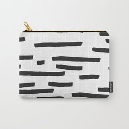 Minimal B&W Carry-All Pouch