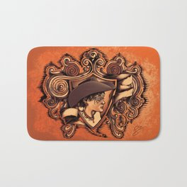 Drew's Coat of Arms Bath Mat