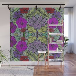 Psychedelic Spring Wall Mural