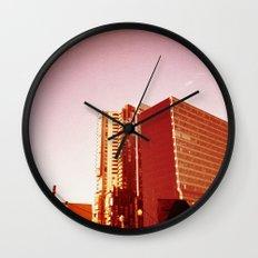 City Rooftop Wall Clock