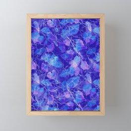 Frozen Leaves 31 Framed Mini Art Print