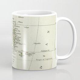 Vintage Map of Africa Coffee Mug