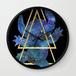 Galaxy Stitch Wall Clock