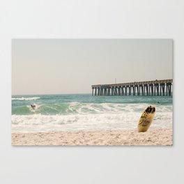 Surfs Up - Panama City Beach, FL Canvas Print