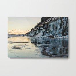 Snaefellsnes peninsula in winter, Iceland Metal Print