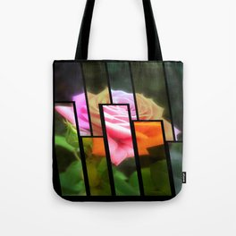 Pink Roses in Anzures 3 Tinted 1 Tote Bag