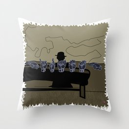 HIRAETH Throw Pillow
