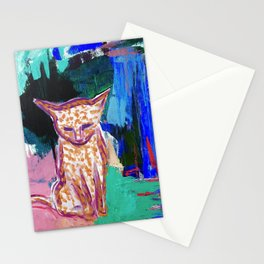 House Cat / Jungle Monster Stationery Cards