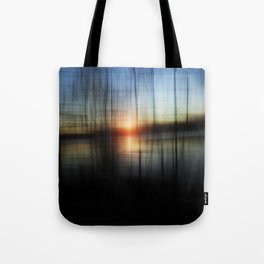 Sunset Blur Tote Bag