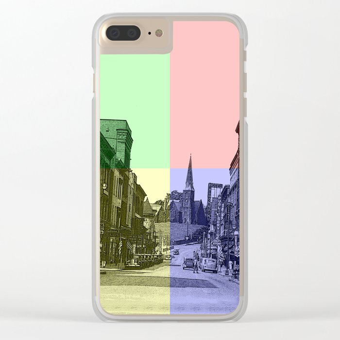 Baltimore St., Cumberland, Md. Clear iPhone Case