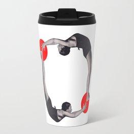 Let's get physical Travel Mug