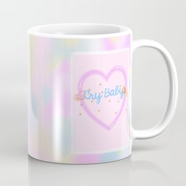 CRY BABY in pastels Coffee Mug