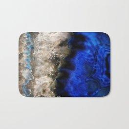 Blue Geode Bath Mat