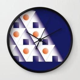 ONIGIRI PYRAMID Wall Clock