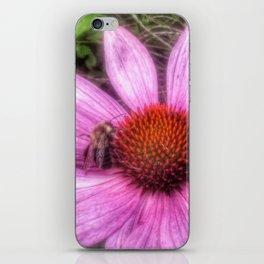 Flower Bee iPhone Skin