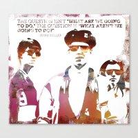 ferris bueller Canvas Prints featuring Ferris Bueller is my Hero by geo22273