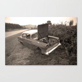 1957 Vauxhall Victor - dead cars series 102 Canvas Print