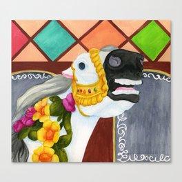 Carousel Horse - Sadie Canvas Print