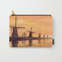 Windmills Sunset Carry-All Pouch