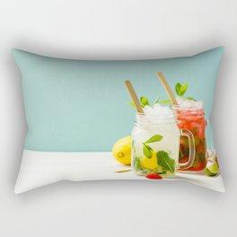 summer cocktails Rectangular Pillow