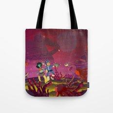 Matilda and Bouru - Alien Planet Tote Bag