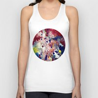 fireworks Tank Tops featuring Fireworks by Tia Hank