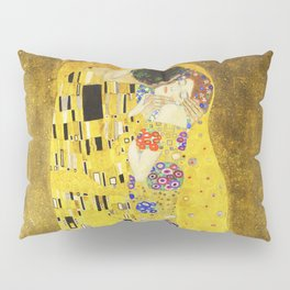 "''The Kiss"" Gustav Klimt Pillow Sham"