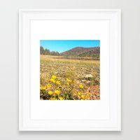 navajo Framed Art Prints featuring Navajo by Nicole Roberts