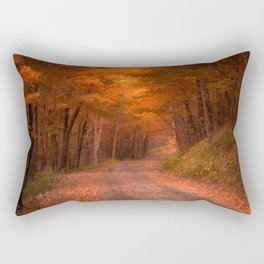 Autumns Passage Rectangular Pillow
