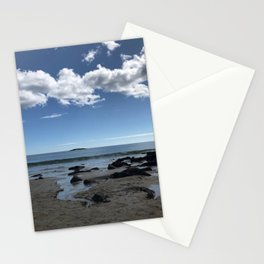 """Beach in Acadia"" Photography Stationery Cards"