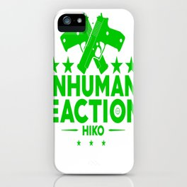 Inhuman Reactions iPhone Case