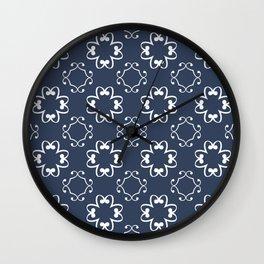 Vintage Night Wall Clock