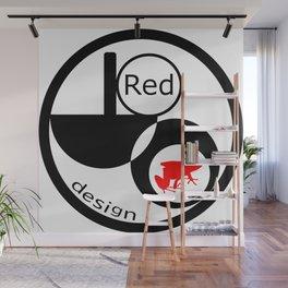 Red Frog Design Logo Wall Mural