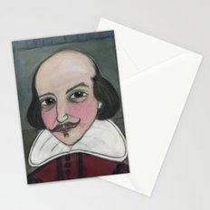 Much Ado About Shakespeare, Illustrated Writers Portrait Stationery Cards