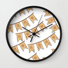 Grad Wall Clock