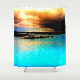 Blue Lagoon, Iceland Shower Curtain