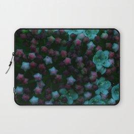 Floral Stars -Blue Laptop Sleeve
