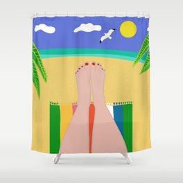 Beachy Keen Shower Curtain