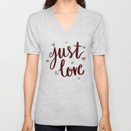 Just Love Unisex V-Neck