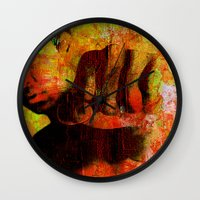 "ali Wall Clocks featuring Cassius ""Ali"" by Ganech joe"