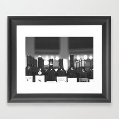 wine Framed Art Print