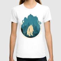 bioshock T-shirts featuring Bioshock 2 by Bill Pyle