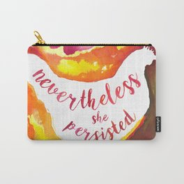 Nevertheless Hen Carry-All Pouch
