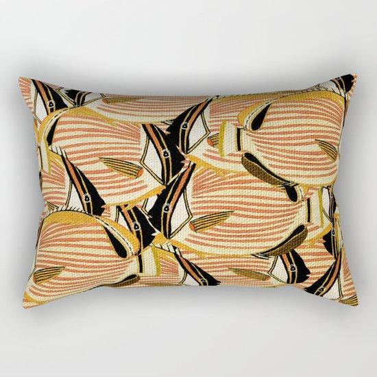 Crowd Fish 5 Rectangular Pillow