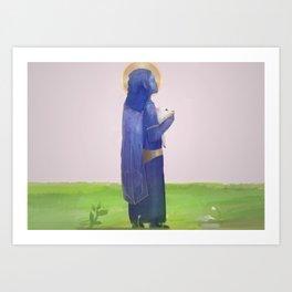 The Good Shepherd Art Print
