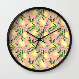 Lemon mood.2 Wall Clock